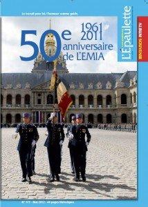 Cahier Cinquantenaire de l'EMIA dans ACTUALITE 176_COUV_HS-214x300
