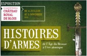 Exposition au chateau de Blois : Histoire d'Armes, de l'Âge du Bronze à l'ère atomique dans ACTUALITE expo-blois2-300x194