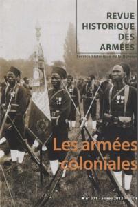 Dernière publication du SHD : revue historique des armées n° 271 - Les armées coloniales  dans ACTUALITE shd-colo-201x300