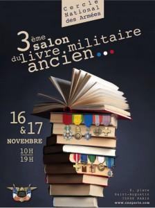 3ème édition du salon du livre militaire ancien au C.N.A. à Paris dans ACTUALITE cna-224x300