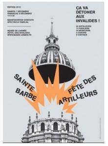 Fête de la Sainte Barbe aux INVALIDES les 7 et 8 décembre dans ACTUALITE ste-barbe-221x300