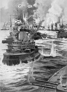 tsushima_Russian_fleet