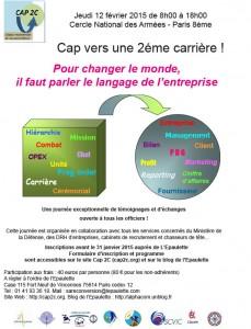 Affiche CAP 2C 2015